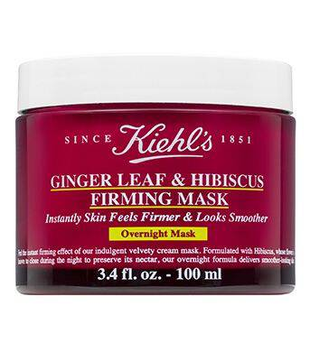Ginger Leaf & Hibiscus Firming Overnight Face Mask