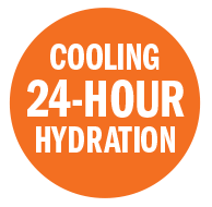 Cooling 24-hour hydration